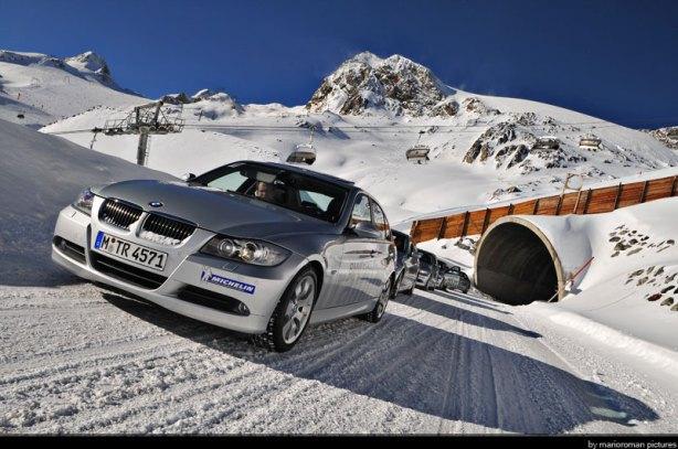 BMW Winterfahrtraining in Sölden