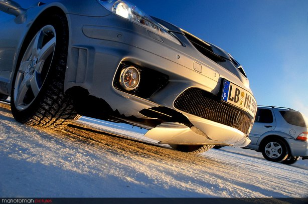 AMG Wintertraining, Schweden - by marioroman pictures