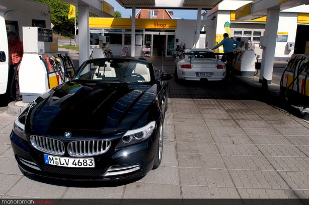 BMW Z4 sDrive35i, Porsche GT3cup by marioroman pictures