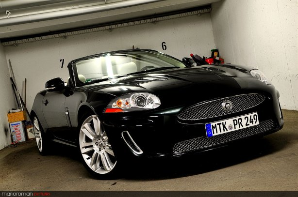 Jaguar XKR Convertible by marioroman pictures