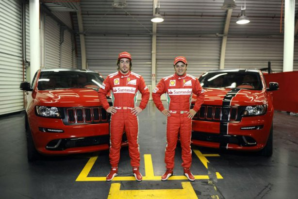 Ferrari Jeep Grand Cherokee SRT-8