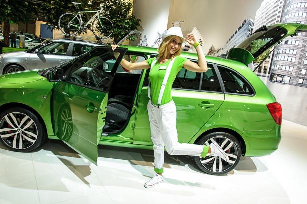 Škoda auf der AMI 2012 by marioroman pictures