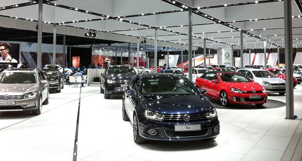 Volkswagen auf der AMI Leipzig 2012
